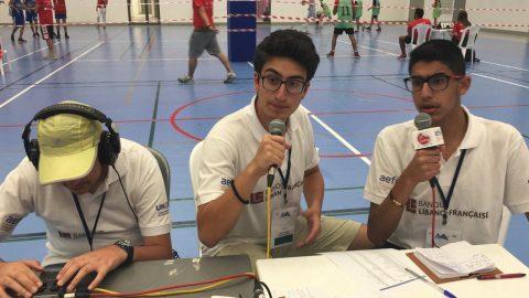 Les demi-finales de basket commentées par les JRI
