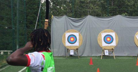 Le tir à l'arc, l'épreuve dans le mille